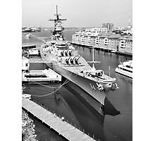 USS Wisconsin Photographic Print