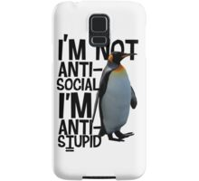 Mr. Penguin Samsung Galaxy Case/Skin