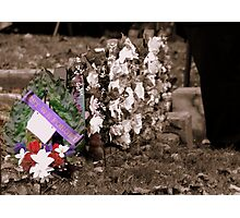Lest We Forget Photographic Print