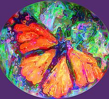 Rainbow Butterfly 1 by suzannem73