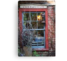 Rabbit Hash - A Nice Place To Live Canvas Print