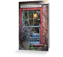 Rabbit Hash - A Nice Place To Live Greeting Card