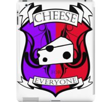 Cheese for everyone! iPad Case/Skin
