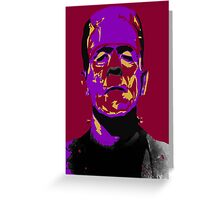 Frankenstein Greeting Card