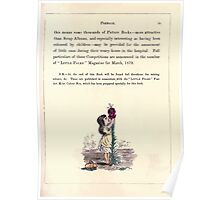 The Little Folks Painting book by George Weatherly and Kate Greenaway 0123 Poster