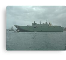Nuship Canberra. Canvas Print