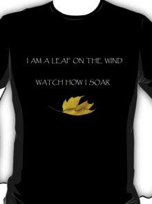 Leaf on the Wind (Dark) T-Shirt