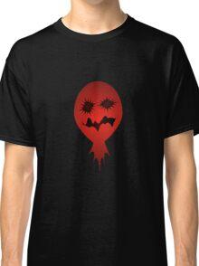 Evil Face Vector Illustration Classic T-Shirt