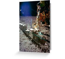 Moon Express Greeting Card