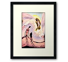 THE JUDGMENT OF EVE TAROT CARDS INSPIRED BY LIZ LOZ Framed Print