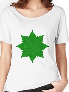 Decorative Ornament Isolated Plants Women's Relaxed Fit T-Shirt