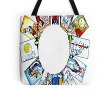 CIRCLE OF TAROT BY LIZ LOZ Tote Bag