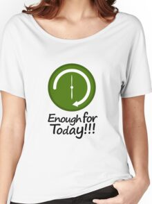 Work Schedule Concept Illustration Women's Relaxed Fit T-Shirt