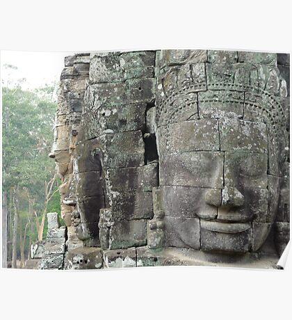 Angkor Wat - The Bayon, Siem Reap Poster