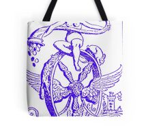 WHEEL OF FORTUNE TAROT CARD DESIGN BY LIZ LOZ Tote Bag