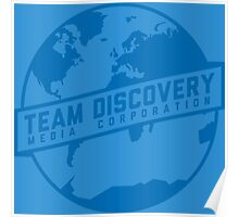 Team Discovery Logo - Blue Poster