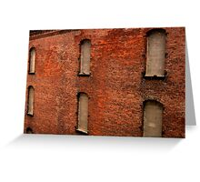 An Old Warehouse in Cincinnati Greeting Card