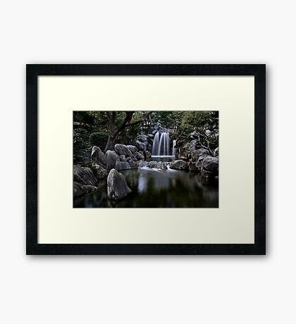 Chinese Garden of Friendship Framed Print