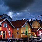 Hälleviksstrand, Orust Sweden by Beth A