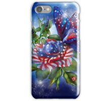 Star Spangled Butty iPhone Case/Skin