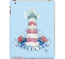 Light my Way iPad Case/Skin