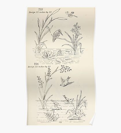Briggs & Company Patent Transferring Papers Kate Greenaway 1886 0165 Poster