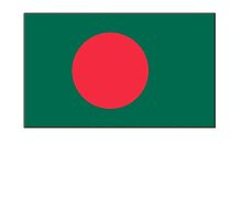 Bangladesh, Bangladeshi Flag, Flag of Bangladesh, Bengali, BENGAL by TOM HILL - Designer