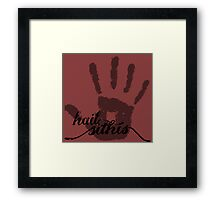 Dark Brotherhood - Hail Sithis! Framed Print
