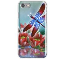 Star Spangled Dragonfly iPhone Case/Skin