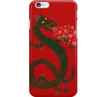 Flower-breathing Dragon iPhone Case/Skin