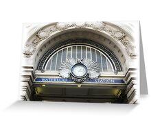 1.15 @ Waterloo Station Greeting Card