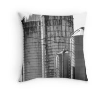 Silos Throw Pillow