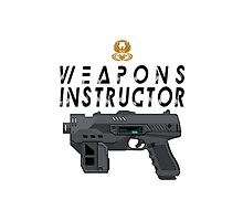 MEGACITY ACADEMY OF LAW WEAPONS INSTRUCTOR by strangelysaucy