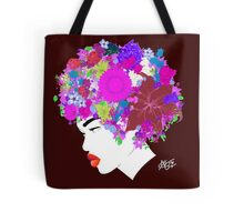 Flower 'Fro ver. 8 Tote Bag