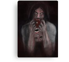BLOOD HUNGER ! Canvas Print