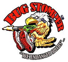 USCM BUG STOMPER! Photographic Print