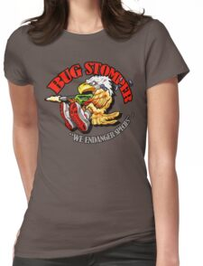 USCM BUG STOMPER! Womens Fitted T-Shirt
