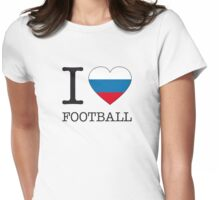 I ♥ RUSSIA Womens Fitted T-Shirt