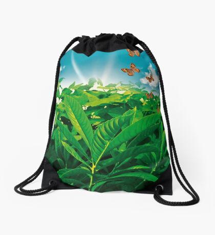 Nature Day Drawstring Bag