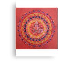 Abundance Buddha free-hand mandala Canvas Print