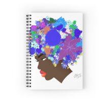 Flower 'Fro ver. 9 Spiral Notebook