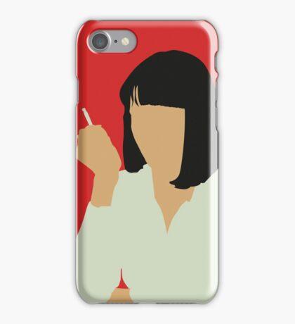 Uma Thurman- Pulp Fiction iPhone Case/Skin