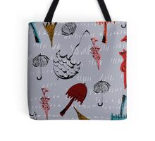 Funky Brollies Tote Bag
