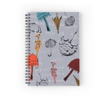 Funky Brollies Spiral Notebook