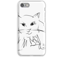 Sketches at the shelter 15 iPhone Case/Skin
