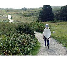 Beach Trails Photographic Print