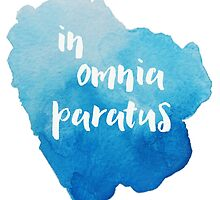 In Omnia Paratus - Ready for Anything by InknColor