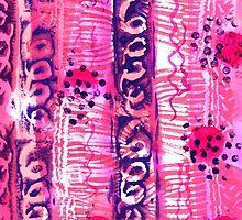 Abstract Ladybirds by Liz Plummer