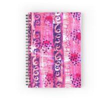 Abstract Ladybirds Spiral Notebook
