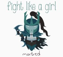 Fight Like a Girl - Mortred | League of Legends Kids Clothes